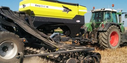Easydrill sky sur chaumes