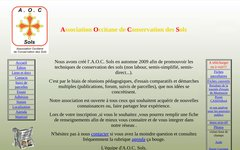 Association Occitane de Conservation des Sols